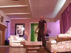 Black bitch seduced by her boyfriend
