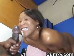 Hot Ebony Teen Fucked In Arse And Finished In Mouth