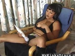 Jet-black Lady and her Gimp