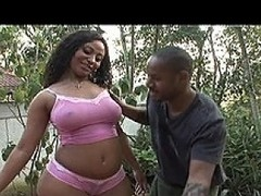 Swarthy playboy Youth Jamaica has hired someone new to clean his car. He...